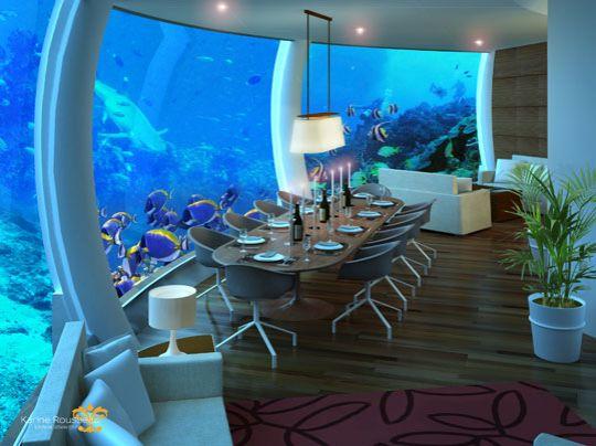 un projet fou bient t possible habiter une maison sous marine. Black Bedroom Furniture Sets. Home Design Ideas