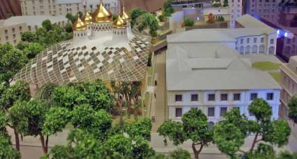 Connu Les projets pour le centre orthodoxe russe à Paris UX35