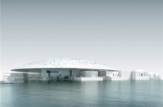 bient t un mus e du louvre abou dhabi par l 39 architecte jean nouvel. Black Bedroom Furniture Sets. Home Design Ideas