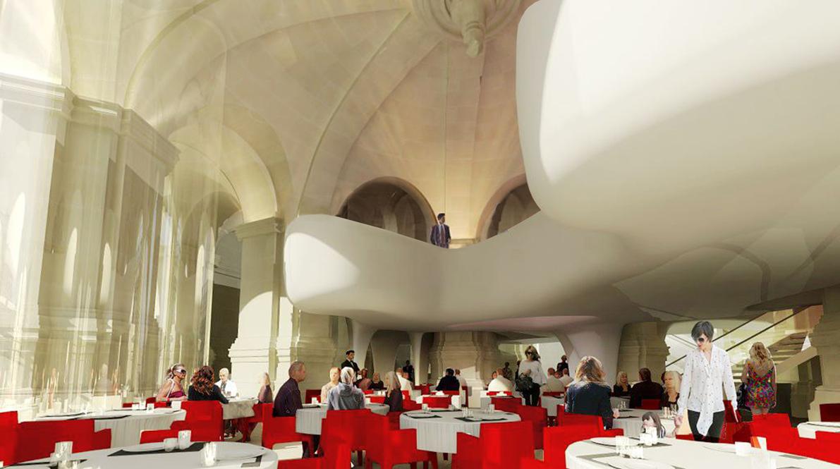 L 39 opera garnier s 39 offre un restaurant par l 39 architecte odile decq - Cafe de l opera garnier ...