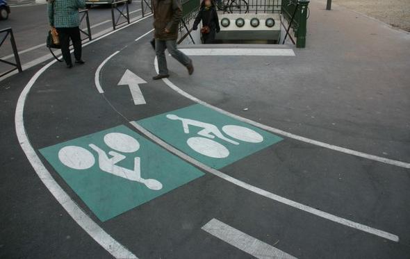 piste cyclable velo paris Paris adopte le plan vélo: 700 km de pistes ...