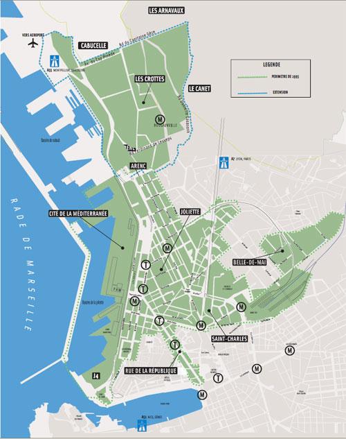 Eurom diterran e r novation urbaine marseille for Projet de plan