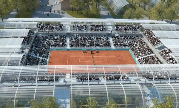 Le projet d 39 extension du stade roland garros en images et vid o - Projet nouveau roland garros ...