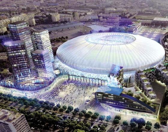 Das neue Stade Velodrome in Marseille