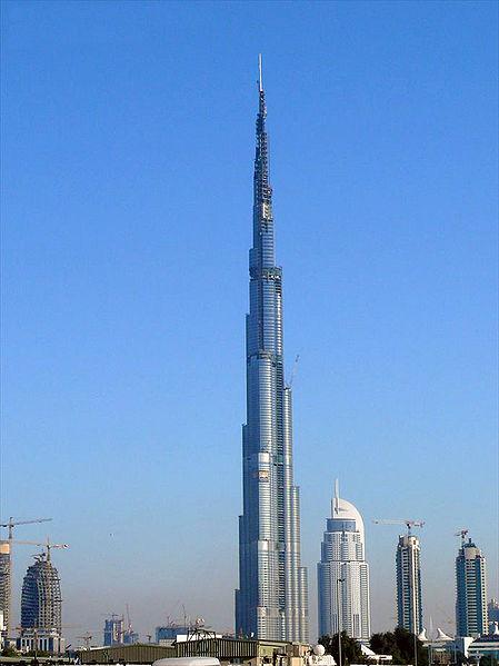 La plus haute tour du monde burj khalifa 828 m tres - Hauteur plus grande tour dubai ...