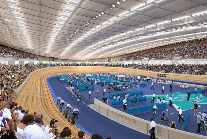 Velódromo London Velopark Londres Olimpiadas Olympic 2012