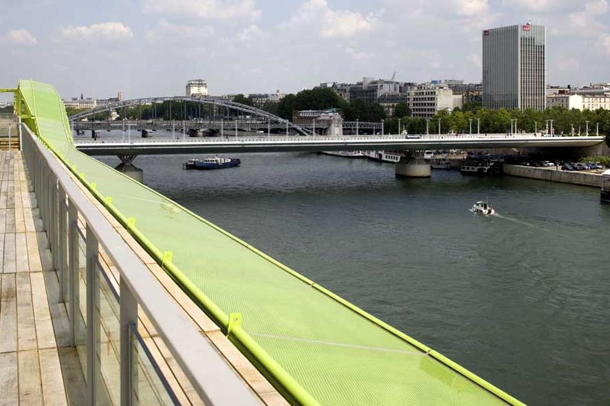 vue paris docks seine cite design mode rive gauche Docks en Seine: la Cité de la mode et du design à Paris