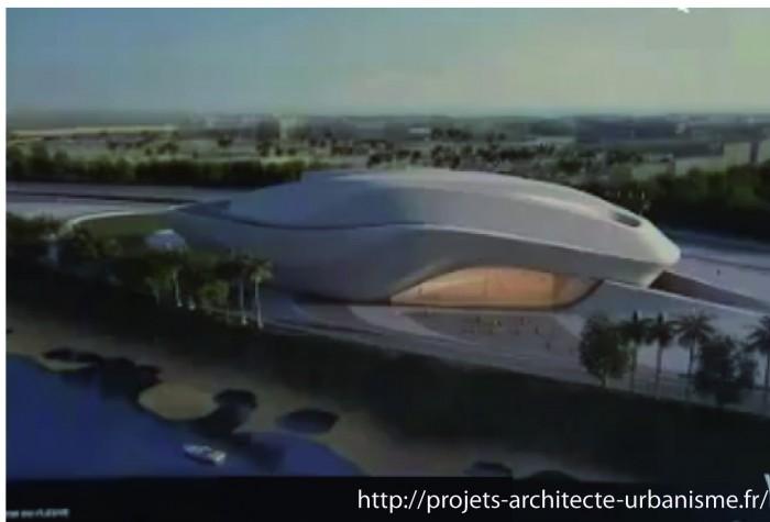 zaha hadid grand theatre rabat1 700x475 Le Grand Théâtre de Rabat conçu par Zaha Hadid