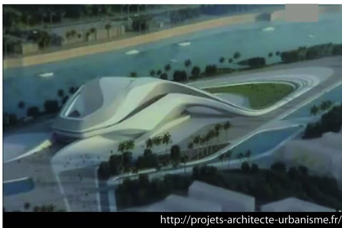 zaha hadid rabat theatre 700x467 Le Grand Théâtre de Rabat conçu par Zaha Hadid